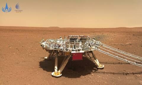 Κίνα: Η χώρα του «Κόκκινου Δράκου» αφήνει το αποτύπωμά της στον Άρη