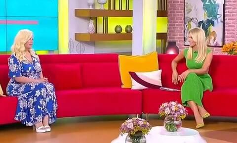 Η «πράσινη» Αντελίνα Βαρθακούρη ρώτησε την Μαλέσκου για τον Χεζόνια (vid)