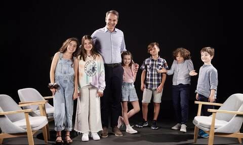 Κυριάκος Μητσοτάκης: Η πιο... γλυκιά «ανάκριση» - Τι εκμυστηρεύτηκε σε παιδιά ο πρωθυπουργός
