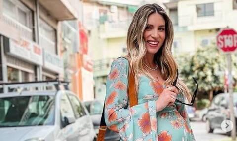 Αθηνά Οικονομάκου: Η πρώτη φωτογραφία μετά τη γέννηση της κόρης της