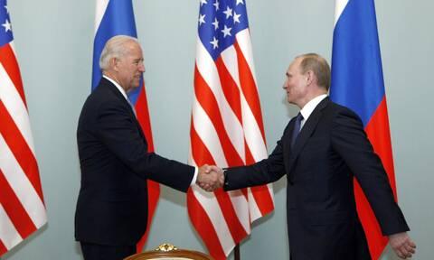 Μπάιντεν - Πούτιν