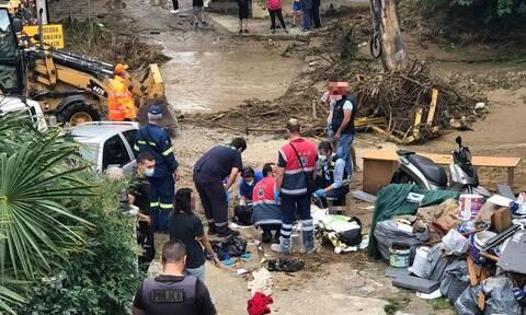 Θεσσαλονίκη: Νεκρός άνδρας από την κακοκαιρία - Παρασύρθηκε το όχημά του από χείμαρρο