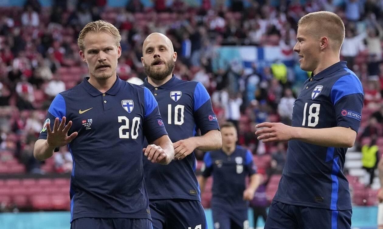 Euro 2020: Ιστορική νίκη για τη Φινλανδία - Σοκαρισμένη λόγω Κρίστιαν Έρικσεν η Δανία