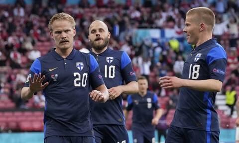 Euro 2020: Ιστορική νίκη για τη Φινλανδία – Σοκαρισμένη λόγω Κρίστιαν Έρικσεν η Δανία