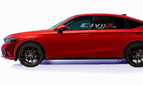 Έτσι θα είναι το νέο Honda Civic Hatchback- Επίσημη πρεμιέρα 23 Ιουνίου