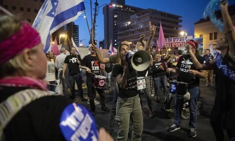 Ισραήλ διαδηλωτές