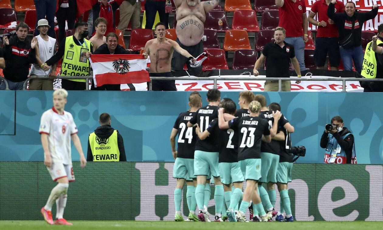 Euro 2020: Η Αυστρία πίκρανε τους προκλητικούς Σκοπιανούς