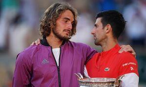 Τζόκοβιτς σε Τσιτσιπά: «Στέφανε θα κερδίσεις πολλά Grand Slam» - «Οι Έλληνες έχουν την αγάπη μου»