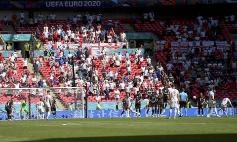 Euro 2020: Χαροπαλεύει οπαδός που έπεσε από τις εξέδρες του «Wembley»