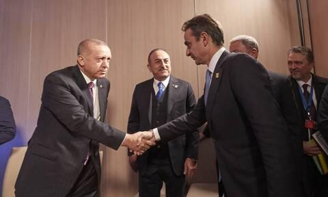 Ραντεβού Μητσοτάκη - Ερντογάν: Οι ανοιχτοί δίαυλοι επικοινωνίας, οι κόκκινες γραμμές και η ατζέντα