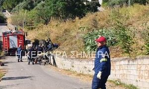 Τραγωδία στην Κέρκυρα: Νεκρός οδηγός τρακτέρ που ανετράπη στα Κανάλια