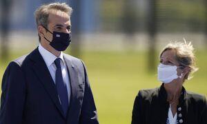 Мицотакис прибыл в Брюссель для участия в саммите НАТО