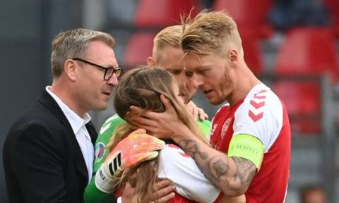 Euro 2020: Ανατριχιαστική αποκάλυψη για τη γυναίκα Έρικσεν - Πίστεψε πως ήταν νεκρός