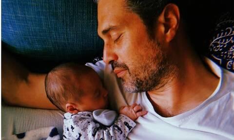 Γνωστή Ελληνίδα ηθοποιός δημοσίευσε νέα φώτο με τον νεογέννητο γιο της