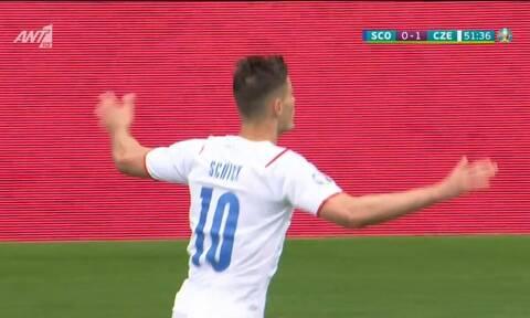 Euro 2020: Απίστευτη γκολάρα στο Σκωτία – Τσεχία! Έγραψε ιστορία ο Σικ (video)