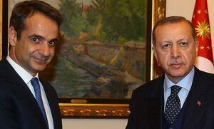Мицотакис и Эрдоган договорились оставить напряженность 2020-го года в прошлом