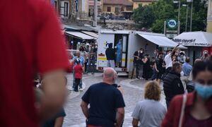 Κρούσματα σήμερα: 397 νέες μολύνσεις στην Αττική και 68 στη Θεσσαλονίκη - Η διασπορά στην επικράτεια