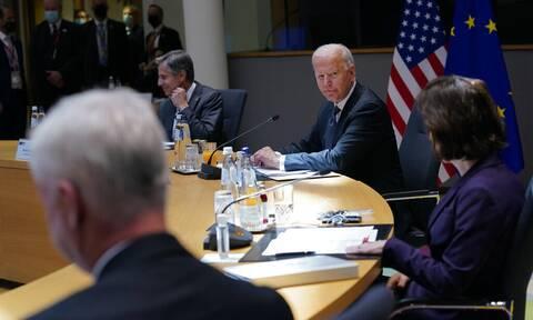 Κοινή δήλωση ΕΕ – ΗΠΑ: Στόχος η αποκλιμάκωση στην Ανατολική Μεσόγειο - Δημιουργία σχέσης συνεργασίας