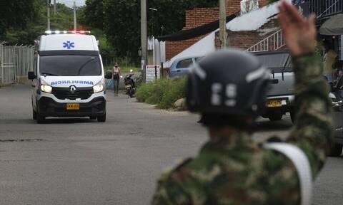 Έκρηξη παγιδευμένου οχήματος στην Κολομβία