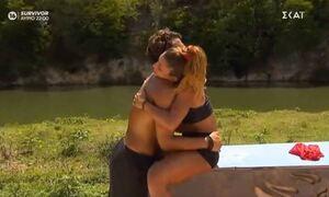 Survivor: Η ερωτική εξομολόγηση του Σάκη στην Μαριαλένα - «Σ'αγαπώ, έχασα μια ζωούλα για σένα»