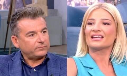 Ο Λιάγκας είπε στην Σκορδά ότι είναι... μαζί κι εκείνη το ξέκοψε: «Δεν είναι αστείο» (vid)