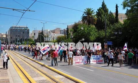 Απεργία 16 Ιουνίου συγκέντρωση ΠΑΜΕ