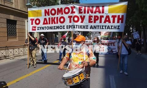 Απεργία 16 Ιουνίου συγκέντρωση