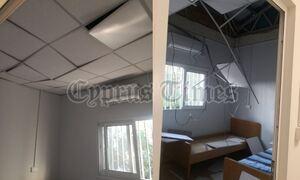 Κύπρος: Πέρασε ελικόπτερο και… κατέρρευσε μέρος της οροφής σε ανακαινισμένο νοσοκομείο! (pics)