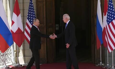 Συνάντηση Μπάιντεν- Πούτιν: Σε εξέλιξη η σύνοδος στη Γενεύη-LIVE