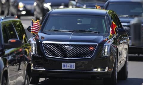 Συνάντηση Μπάιντεν- Πούτιν: The Beast- Η λιμουζίνα του Αμερικανού προέδρου στους δρόμους της Γενεύης