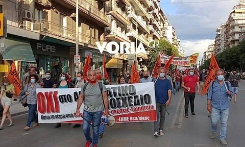 Θεσσαλονίκη: Νέες πορείες για το εργασιακό νομοσχέδιο