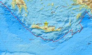 Σεισμός ΤΩΡΑ βόρεια της Κρήτης - Μεταξύ Ηράκλειου και Ρεθύμνου το επίκεντρο (pics)