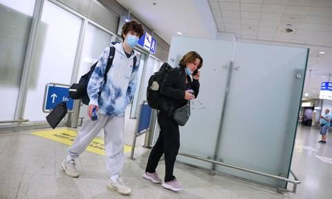 Τουρίστες Βρετανία αεροδρόμιο