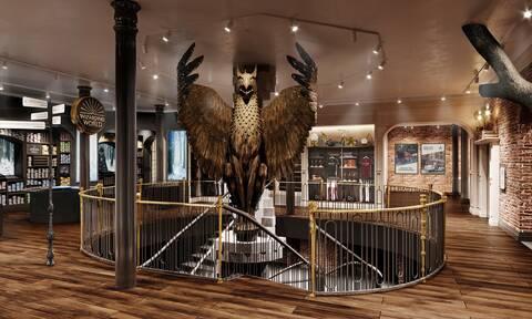 Το μεγαλύτερο κατάστημα Χάρι Πότερ, άνοιξε τις πύλες του στη Νέα Υόρκη
