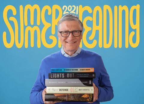 Τα πέντε βιβλία που προτείνει ο Μπιλ Γκέιτς για το καλοκαίρι