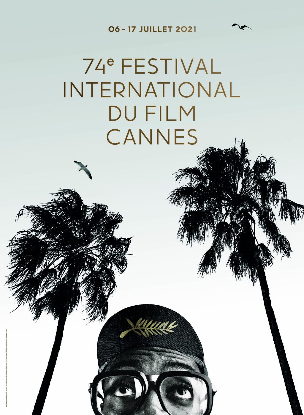 Η αφίσα του 74ου Φεστιβάλ Καννών με τον Σπάικ Λι
