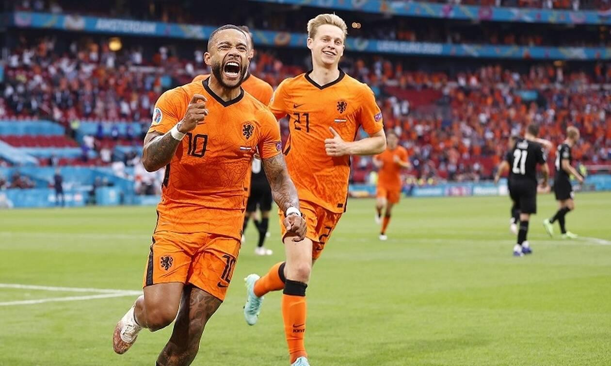 Euro 2020 - Αποτελέσματα: Τον δρόμο της Ιταλίας ακολούθησαν Ολλανδία και Βέλγιο (videos)