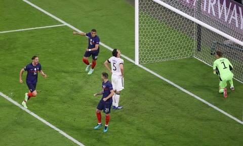 Euro 2020: Γιος παίκτη της Γερμανίας ζητωκραύγαζε στο γκολ της Γαλλίας (video)