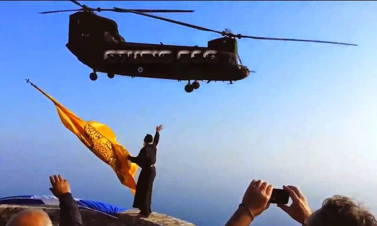 Μοναχός Ιωσήφ: Ο σύγχρονος προστάτης των Ενόπλων Δυνάμεων- Οι σημαίες στον γκρεμό που προκαλούν δέος