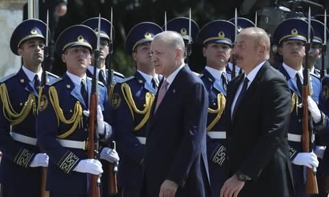 Ερντογάν Αζερμπαϊτζάν