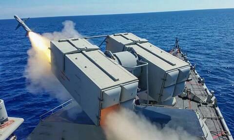 Πολεμικό Ναυτικό: Άνοιξαν πυρ οι φρεγάτες στην Κρήτη - «Λόγχη» ισχύος και ετοιμότητας