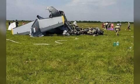 Ρωσία - Συντριβή αεροσκάφους: Τουλάχιστον εννέα οι νεκροί - Δέκα οι τραυματίες