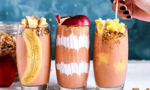 7 υγιεινά smoothies με ελάχιστες θερμίδες