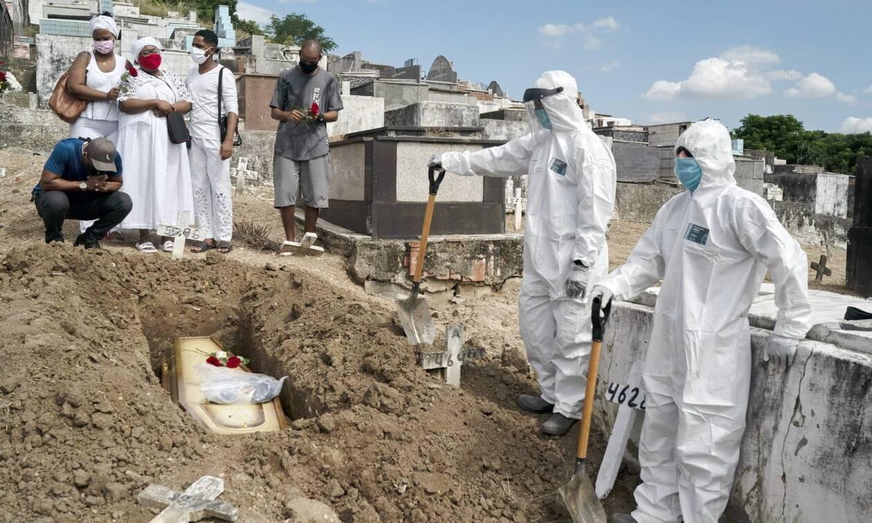 Κορονοϊός στη Βραζιλία: 1.025 θάνατοι σχεδόν 45.000 κρούσματα σε 24 ώρες