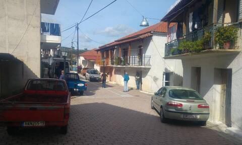 To χωριό Χαριά στην Ηλεία