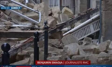 Βίντεο - Γαλλία: Κατάρρευση κτηρίων στο Μπορντό
