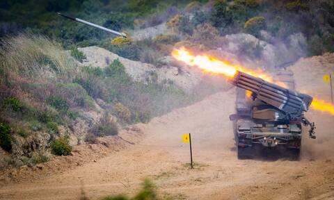 Στρατός Ξηράς: Άνοιξε πυρ στην Ξάνθη - Εντυπωσιακές εικόνες