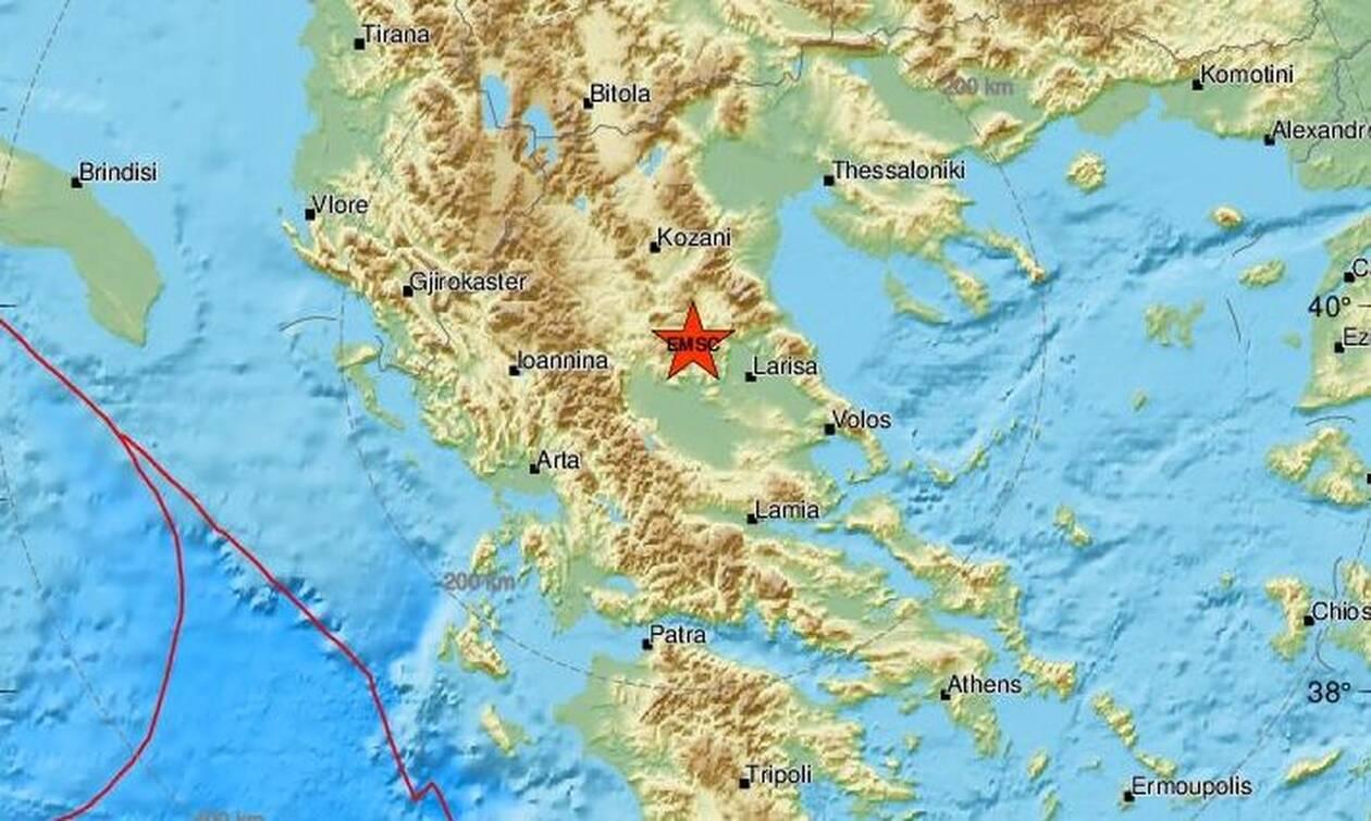Σεισμός ΤΩΡΑ κοντά στην Ελασσόνα (pics)