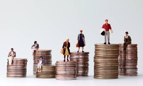 Μεγάλες παραμένουν οι εισοδηματικές ανισότητες στην Ελλάδα