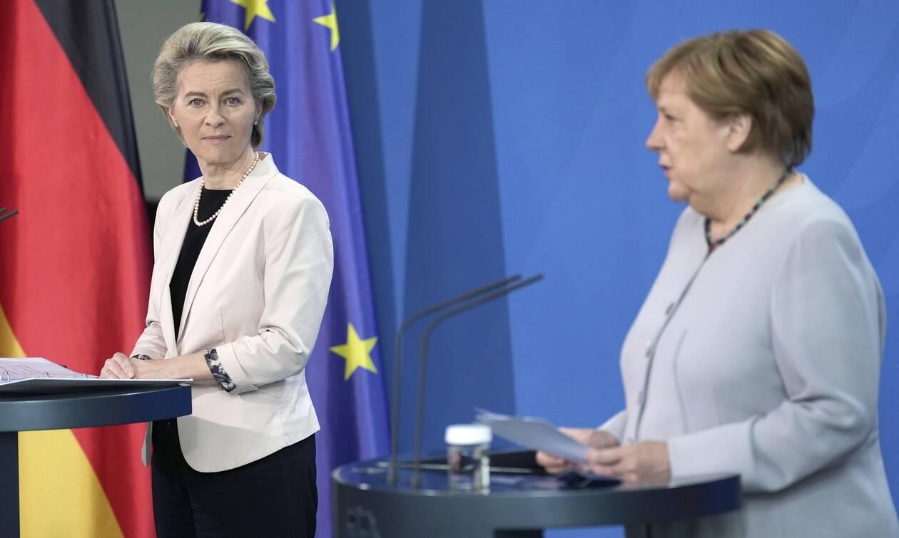 Προσφυγικό: Επικαιροποίηση της συμφωνίας ΕΕ-Τουρκίας θέλουν Μέρκελ και φον ντερ Λάιεν